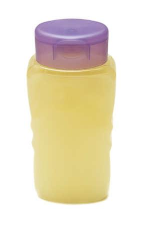 shampoo isolated on white background