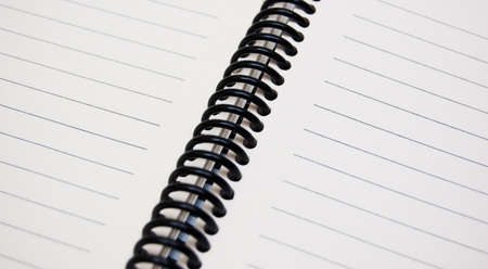 stripped notepad Stock Photo