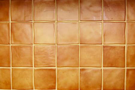 brown wall tiles  Stock Photo