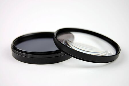 Polarizer and magnifying photo filter photo