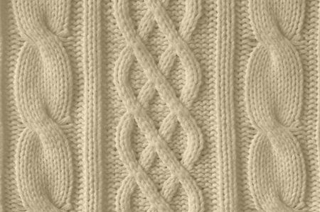 Knitted woolen background photo