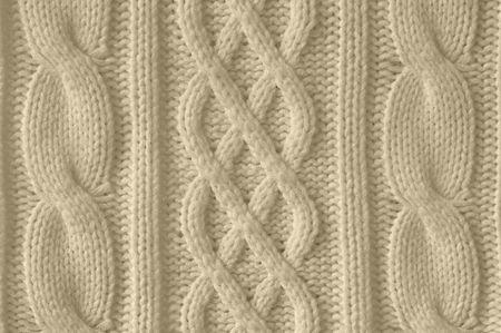 Knitted woolen background photo