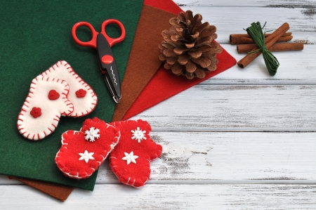 craft supplies: Christmas craft supplies and ornaments