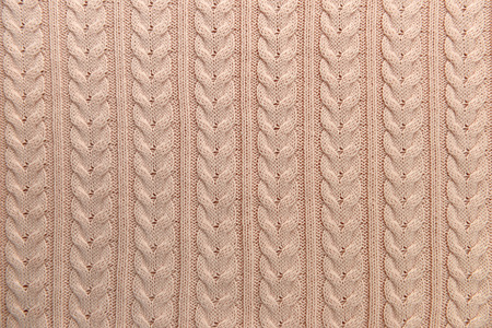 Knit background in full frame Stock Photo