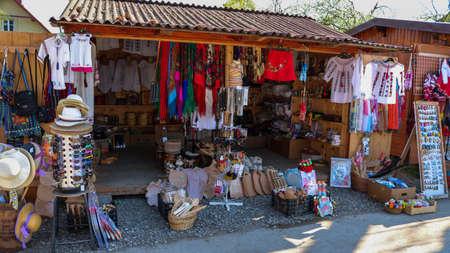 Traditional Market in Vatra Dornei, Bukovina region. I have taken this photo in April 2018 during my visit of Romania Redakční