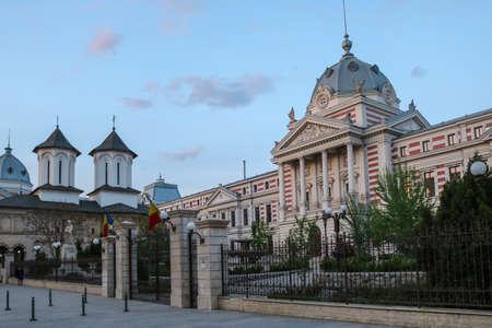 ColÈ›ea Hospital in Bucharest, Romania. Photo was taken in april 2018.