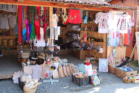 Traditional Market in Vatra Dornei, Bukovina region. I have taken this photo in April 2018 during my visit of Romania Editöryel
