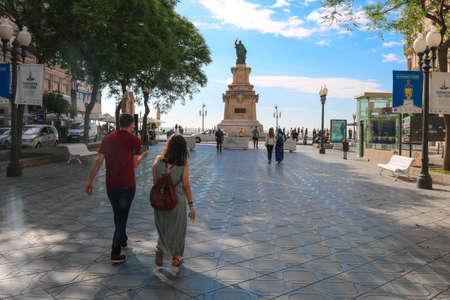 La Ramlba in Tarragona. The photo was taken in June 2018 during the Mediterranean games in Tarragona Editöryel