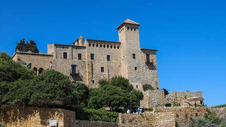 Tamarit Castle near Tarragona, Spain. Taken in July 2018.