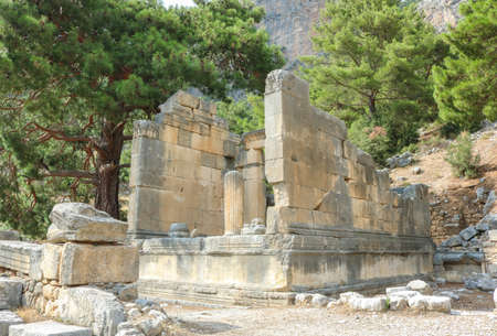 Ruins of the ancient city of Arykanda. Near Antalya, Turkey. Shoot ni july 2018