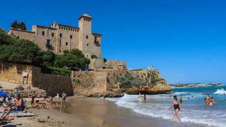 Tamarit Castle near Tarragona, Spain. Taken in July 2018