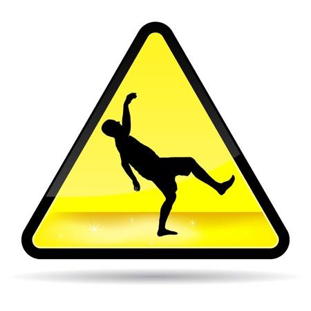 wet floor: Wet Flor Sign