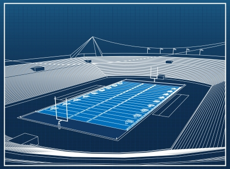terrain foot: Stade de football am�ricain