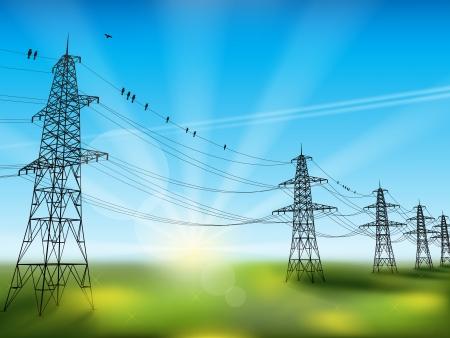 Transmission line Illustration