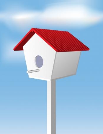 birdhouse: Birdhouse Illustration