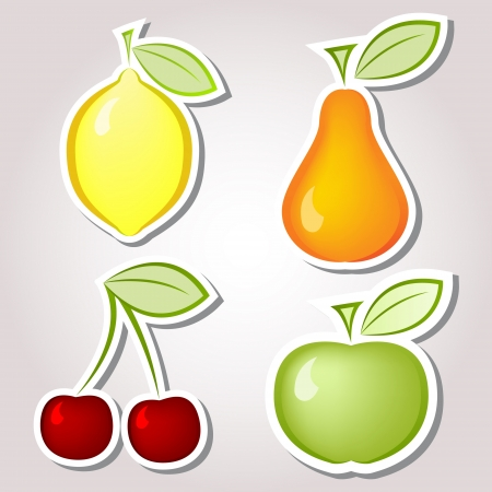 lemons: Fruits Labels