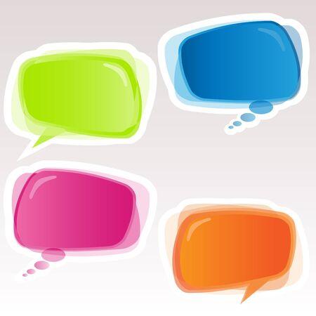 speech bubble: Speech Bubbles Illustration