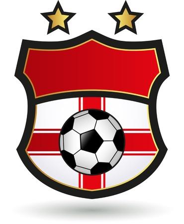 Foodbal - Soccer Emblem Stock Vector - 18473733