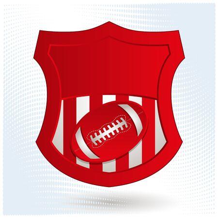 American Football Emblem Stock Vector - 18467140