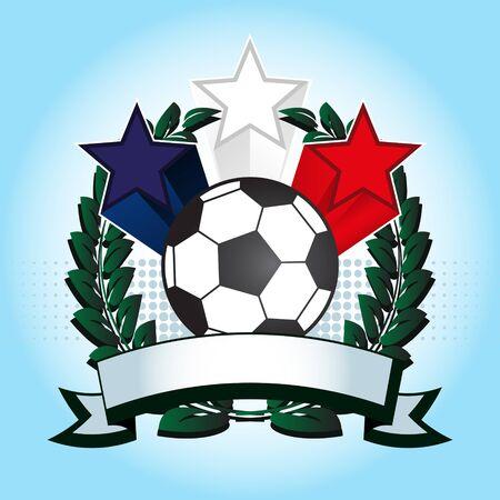 Soccer Emblem Stock Vector - 18467198