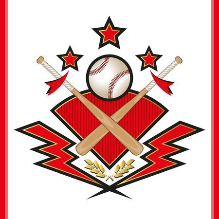 ball lightning: Baseball Emblem