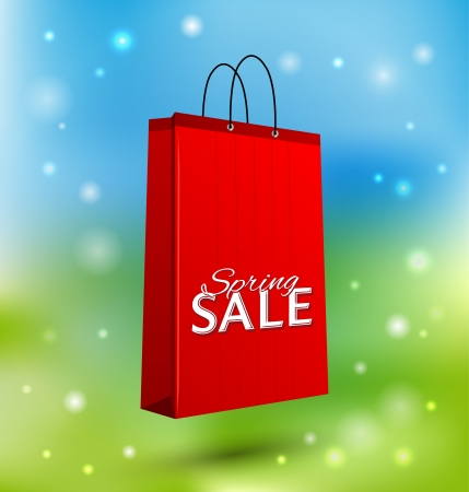 shoping bag: Shoping Bag Illustration