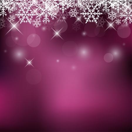 carte de voeux noel: Vacances d�coratif avec Snowflakes et Sparks