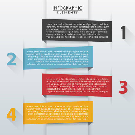 Vector Template of Infographic Elements