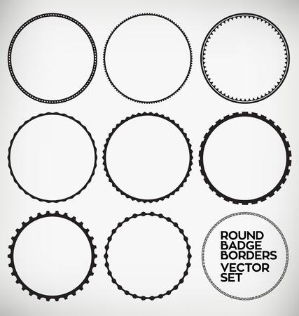 ラウンド枠デザイン要素 写真素材 - 32019505