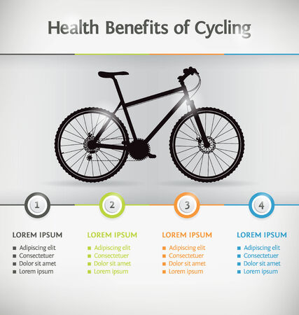 mtb: Cycling Infographic or Presentation Template