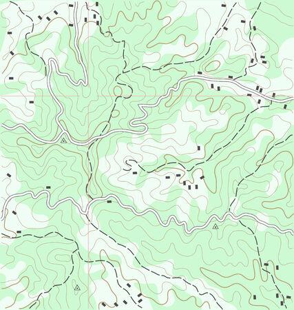 Résumé Carte topographique Contexte