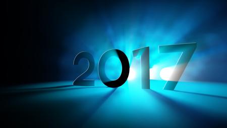 2017 새해 빛 초록 인사말