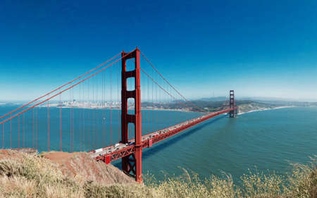 disctrict: Golden Gate with San Francisco city in far