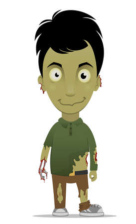zombie cartoon: Zombie