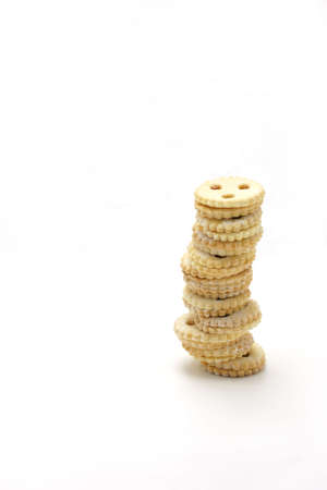 Cookie tower - horizontal