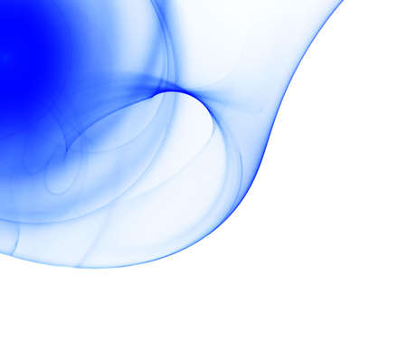 Fractal blue abstract background