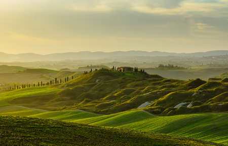 image of typical tuscan landscape Stock Photo