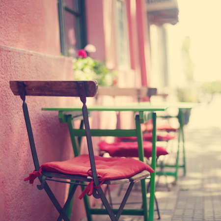 french cafe: Outdoors cafe chairs