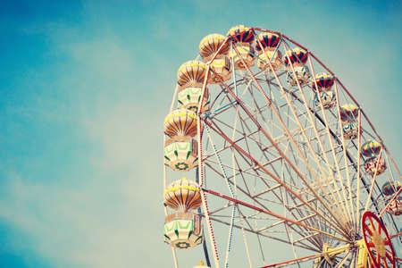 ferris: Vintage Ferris wheel