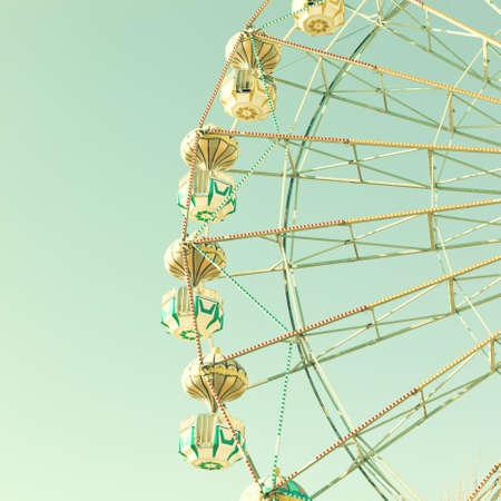 Vintage ferris wheel photo