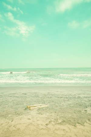 tend: Vintage summer beach