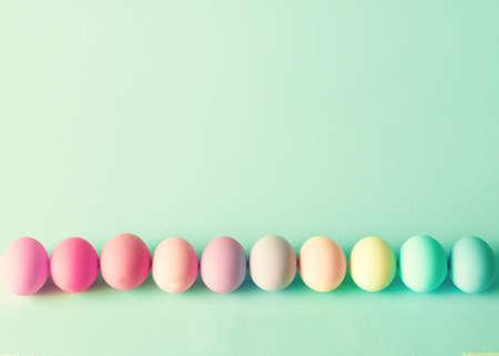 다채로운 부활절 달걀