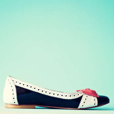 Vintage heel shoes photo
