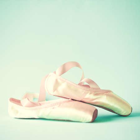 Vintage ballet shoes photo