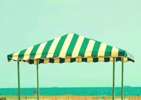 tend: Beach tent