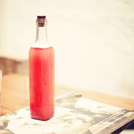 juice bottle: Vintage juice bottle