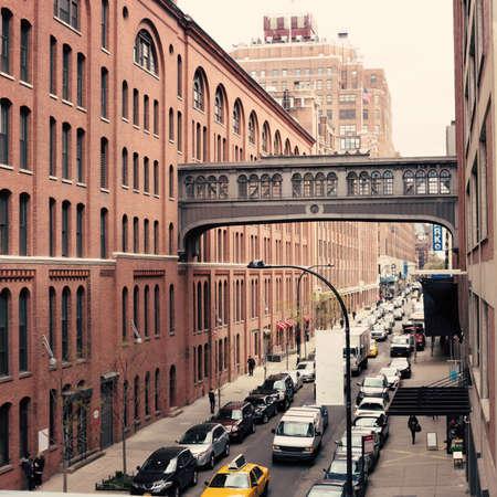 flat iron: Street in Chelsea