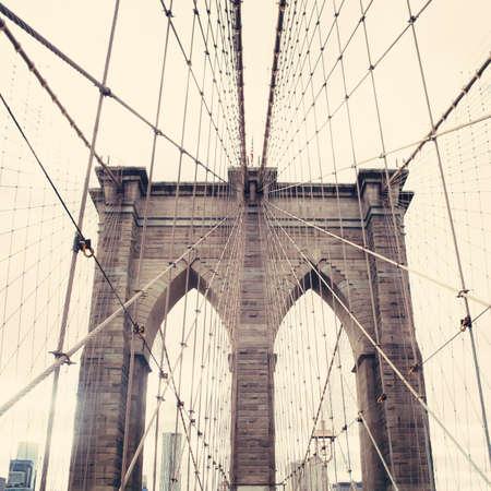 Puente de Brooklyn Foto de archivo - 32831028