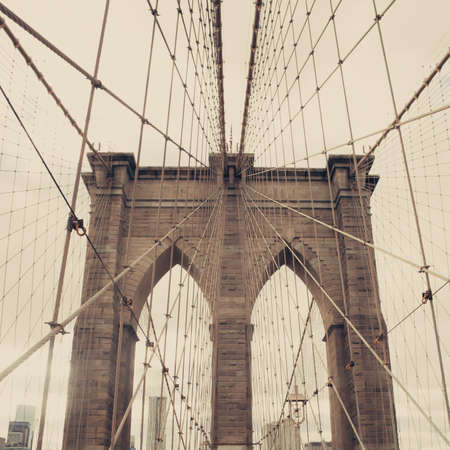 chrysler building: Brooklyn Bridge