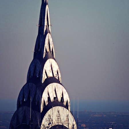 chrysler building: Tip of the Chrysler Building